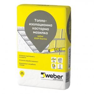 Топлоизолираща вароциментова мазилка Weber 202P thermo