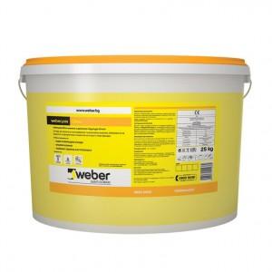 Полимерна мазилка weber.pas Clima , драскана, 1,5 мм. (R960) , 25 кг.