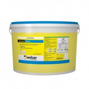 Пастообразна  тънкослойна мазилка weber.pas ActiveAir (C952) , драскана, 1,5 мм. , 25 кг.