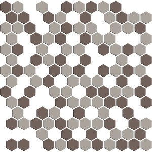 SATIN GLASS MOSAIC 6 mm No.5 A-MBO06-XX-005