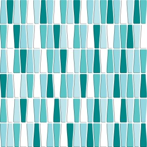 SATIN GLASS MOSAIC 6 mm No.9 A-MBO06-XX-009