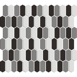 SATIN GLASS MOSAIC 6 mm No.10 A-MBO06-XX-010