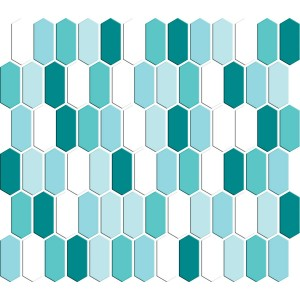 SATIN GLASS MOSAIC 6 mm No.12 A-MBO06-XX-012