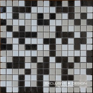 Стъклена мозайка за басеини GLOBO A-MPO04-XX-004