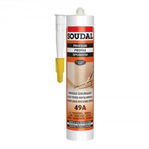 Универсално монтажно лепило Soudal 49А , 300 мл.