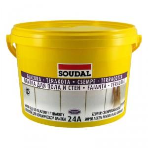 Супер лепило за стени и подови плочки Soudal 24А