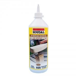 Водоустойчиво полиуретаново лепило за дърво Soudal 66А