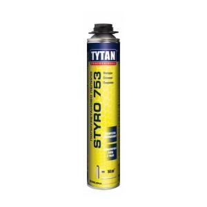 ПУ пистолетно лепило за топлоизолационни плоскости TYTAN Professional STYRO 753