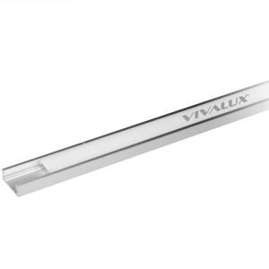Алуминиеви профили за LED ленти PROFILE S 2M KIT