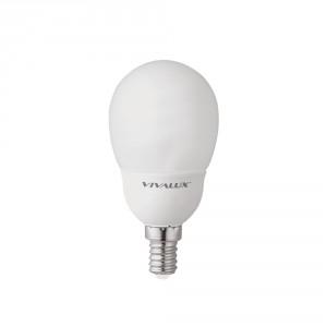 Енергоспестяващи лампи Mini Globe MG22 9W E14 2700K