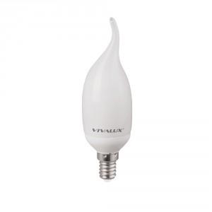 Енергоспестяваща лампа Flame Candle FC22 9W E14 2700K