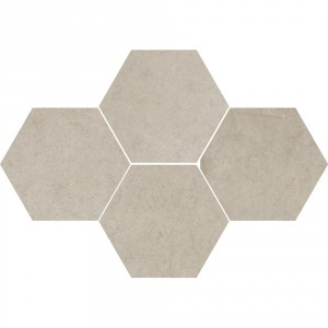 Mosaic Hexagon Durban Beige 28,3x40,8 , 8 мм.