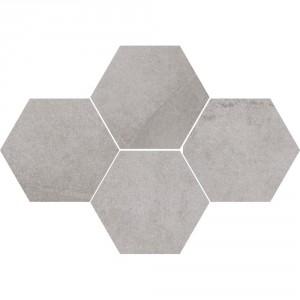 Mosaic Hexagon Durban Silver 28,3x40,8 , 8 мм.