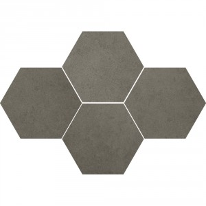 Mosaic Hexagon Durban Antracite 28,3x40,8 , 8 мм.