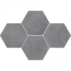 Mosaic Hexagon Stark Pure Grey , 28,3x40,8
