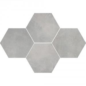 Mosaic Hexagon Stark Grey , 28,3x40,8
