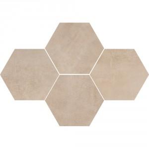 Mosaic Hexagon Stark Beige , 28,3x40,8
