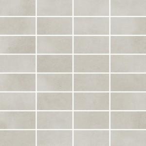 Town Soft Grey Mozaika Rectangles 25x25