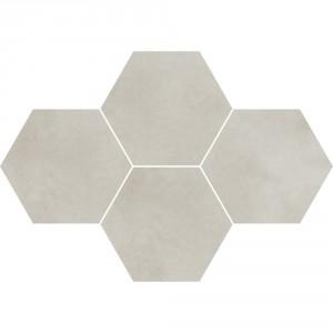Town Soft Grey Mozaika Heksagon 28,3x40,8