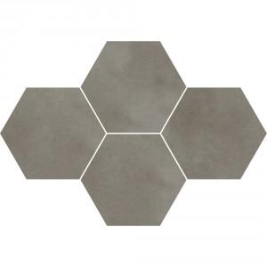 Town Grey Mozaika Heksagon 28,3x40,8