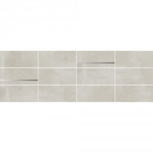 Town Soft Grey Mosaic 25x75