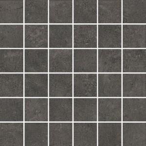 Town Antracite Mozaika Squares 25x25