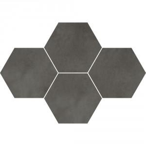 Town Antracite Mozaika Heksagon 28,3x40,8