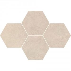 Qubus Soft Grey Mozaika Heksagon 28,3x40,8 , 9.5 мм.