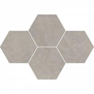 Qubus Grey Mozaika Heksagon 28,3x40,8 , 9.5 мм.