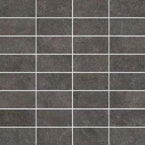 Qubus Antracite Mozaika Rectangles 30x30 , 9.5 мм.