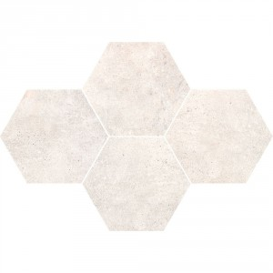 Grey Wind Light Mozaika Heksagon 28,3x40,8 , 9.5 мм.