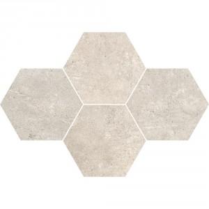 Grey Wind Mild Mozaika Heksagon 28,3x40,8 , 9.5 мм.
