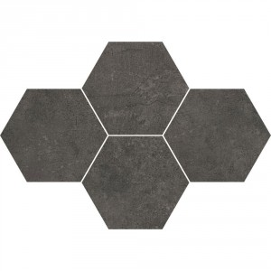 Grey Wind Antracite Mozaika Heksagon 28,3x40,8 , 9.5 мм.