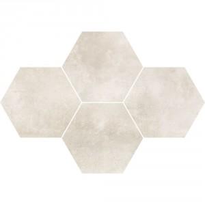 Maxima Soft Grey Mozaika Heksagon 28,3x40,8 , 9.5 мм.