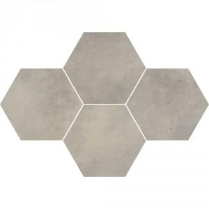 Maxima Medium Grey Mozaika Heksagon 28,3x40,8 , 9.5 мм.