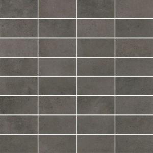 Maxima Dark Grey Mozaika Rectangles 30x30 , 9.5 мм.