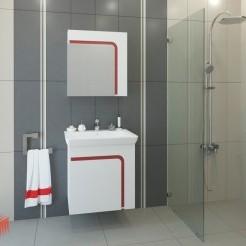 Комплект мебели за баня ТЕРЕЗА 60 PVC