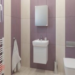Комплект мебели за баня ЛОРА 40 PVC