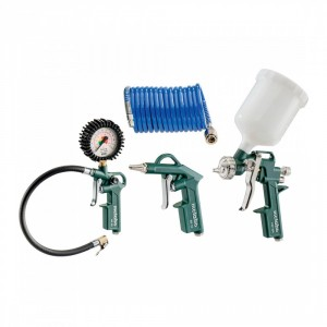 Комплект пневматични инструменти METABO LPZ 4 SET