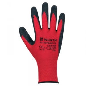 Ръкавици за механици RED LATEX GRIP
