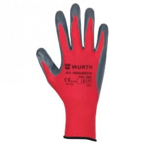 Монтажни ръкавици RED NITRIL