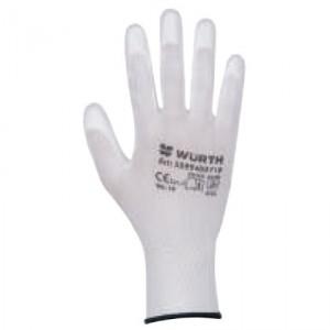 Монтажни ръкавици White PU