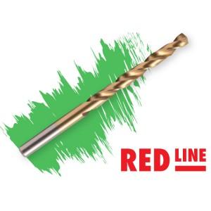 Свредло за стомана и инокс RED LINE DIN338-HSS TiN