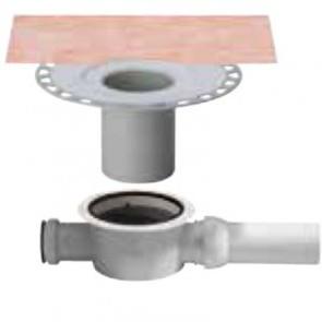 Вътрешен хоризонтален подов сифон с капан за миризми KERDI-DRAIN , KD BH 50 GV , DN 50 / UK 50 mm