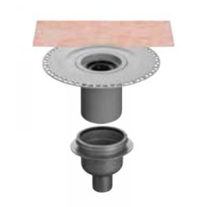 Вътрешен вертикален подов сифон с капан за миризми KERDI-DRAIN , KD BV 50 GVB , DN 50 / UK 50 mm