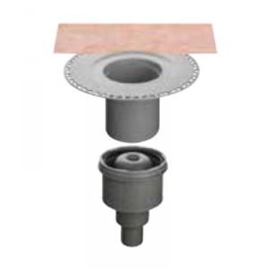 Вътрешен вертикален подов сифон с капан за миризми KERDI-DRAIN , KD BAV 50 GVB , DN 50 / UK 50 mm