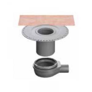 Външен хоризонтален подов сифон без капан за миризми KERDI-DRAIN , KD BH 50 B , DN 50 / UK 50 mm