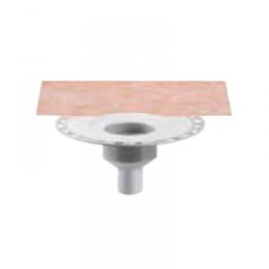 Външен вертикален подов сифон без капан за миризми KERDI-DRAIN , KD BV 50 , DN 50 / UK 50 mm