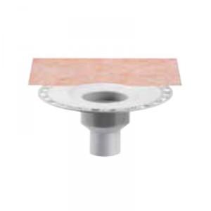 Външен вертикален подов сифон без капан за миризми KERDI-DRAIN , KD BV 70 , DN 70 / UK 70 mm