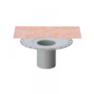 Външен вертикален подов сифон без капан за миризми KERDI-DRAIN , KD BV 100 , DN 100 / UK 110 mm